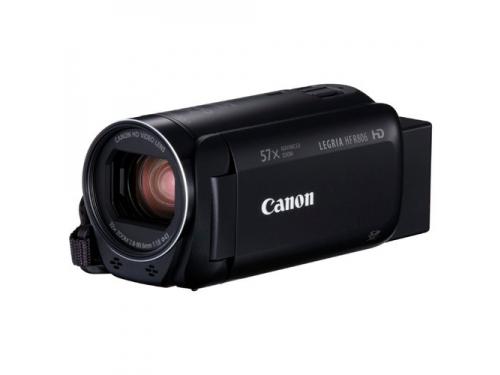 Видеокамера Canon LEGRIA HF R806, черная, вид 2