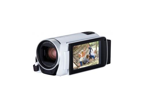 Видеокамера Canon Legria HF R806, белая, вид 1