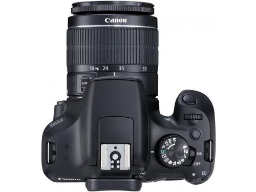 Цифровой фотоаппарат Canon EOS 1300D Kit, черный, вид 2