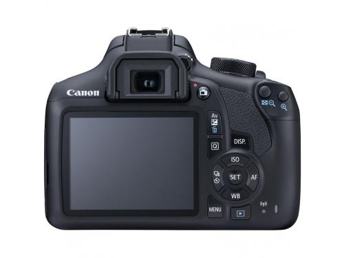 Цифровой фотоаппарат Canon EOS 1300D Kit, черный, вид 3