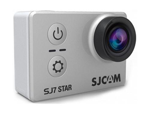 Видеокамера SJCAM SJ7 Star, серебристая, вид 1
