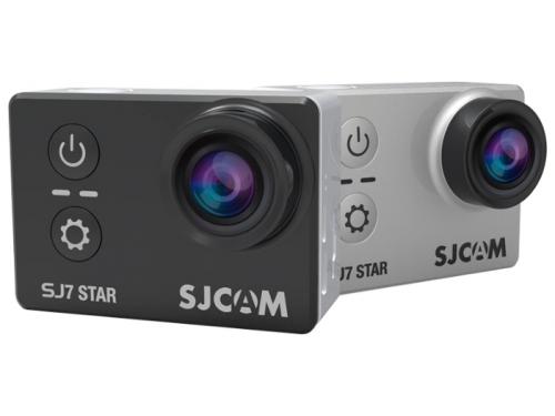 Видеокамера SJCAM SJ7 Star, серебристая, вид 2
