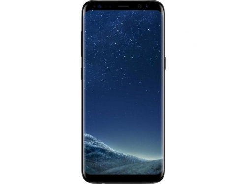 Смартфон Samsung Galaxy S8 SM-G950, Чёрный бриллиант, вид 1