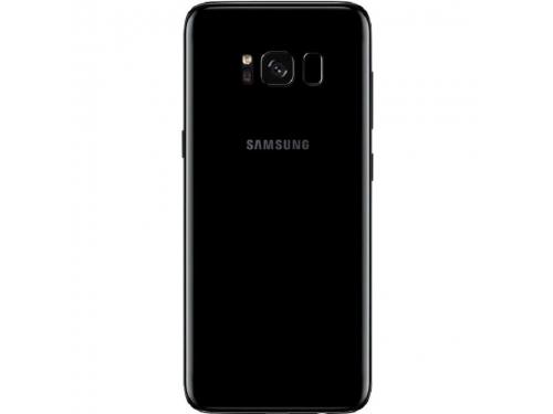 Смартфон Samsung Galaxy S8 SM-G950, Чёрный бриллиант, вид 2