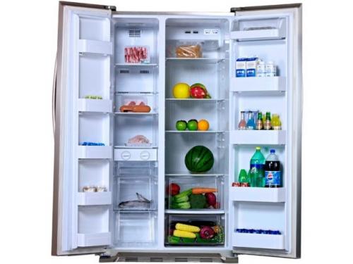 Холодильник Shivaki SBS-550DNFBGI, черный, вид 2