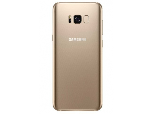 Смартфон Samsung Galaxy S8+, желтый топаз, вид 2