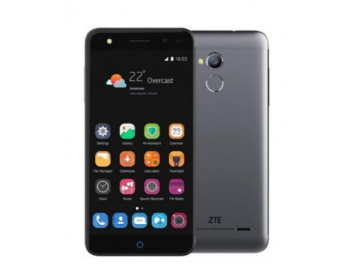 Смартфон ZTE Blade V7 Lite 2/16Gb, серый, вид 1