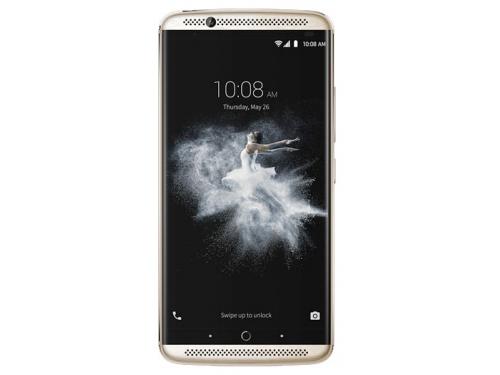 Смартфон ZTE Axon 7 64Gb, золотистый, вид 1