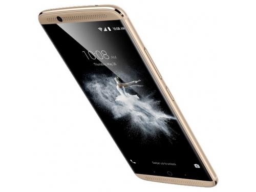 Смартфон ZTE Axon 7 64Gb, золотистый, вид 2