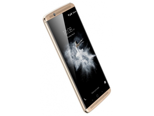 Смартфон ZTE Axon 7 64Gb, золотистый, вид 3