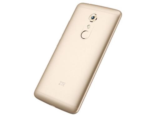 Смартфон ZTE Axon 7 64Gb, золотистый, вид 7
