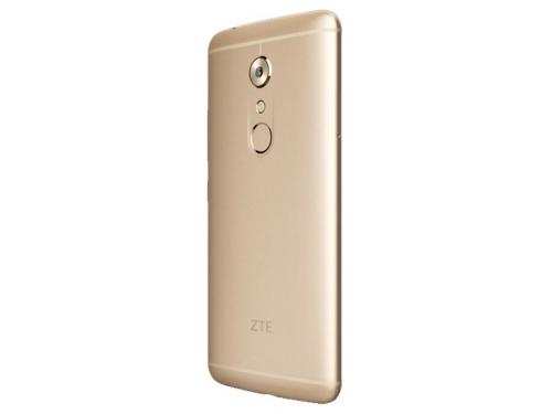 Смартфон ZTE Axon 7 64Gb, золотистый, вид 6