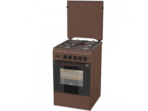 Плита Flama AG 14212, коричневый, вид 1