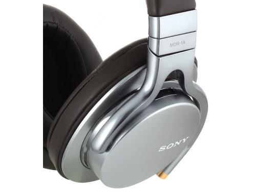 Наушники Sony MDR-1A/SQ(Е), серебристые, вид 4