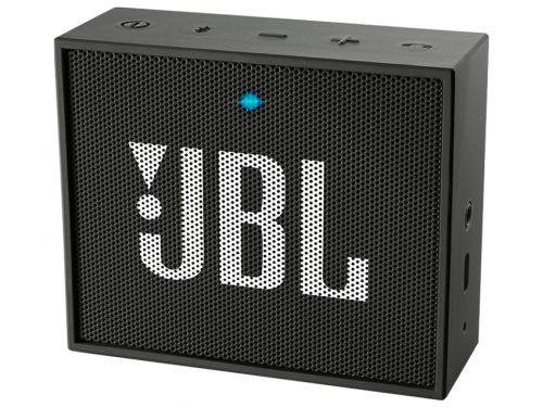 Портативная акустика JBL GO, чёрная, вид 1