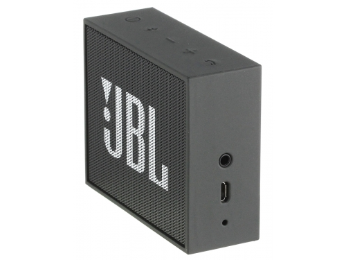 Портативная акустика JBL GO, чёрная, вид 3
