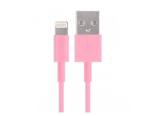 �������� ���������� ����-������ Smartbuy USB - 8-pin ��� Apple, �������, ����� 1,2 �, ������� (iK-512c pink)/500, ��� 1