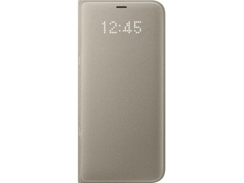 Samsung View Cover для Galaxy S8+ LED (EF-NG955PFEGRU) золотистый