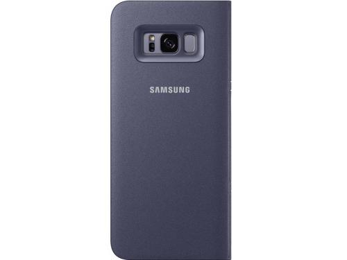 Чехол для смартфона Samsung View Cover для Galaxy S8 LED (EF-NG950PVEGRU) фиолетовый, вид 2