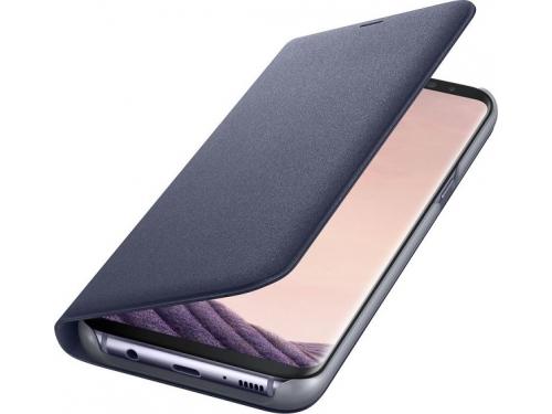 Чехол для смартфона Samsung View Cover для Galaxy S8 LED (EF-NG950PVEGRU) фиолетовый, вид 3