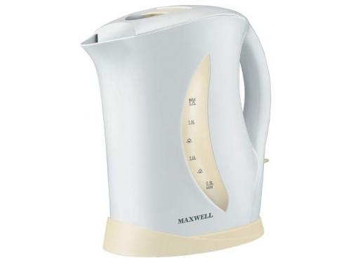 Чайник электрический Maxwell MW-1006, белый/бежевый MW-1006 W