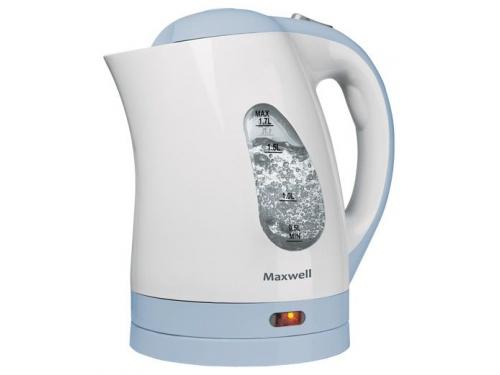 Чайник электрический Maxwell MW-1014, синий MW-1014 B (синий)