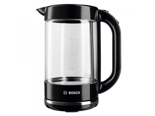 Чайник электрический Bosch TWK70A03, черный, вид 1
