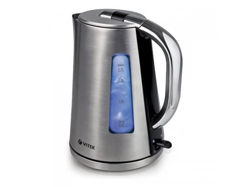 Чайник электрический Vitek VT-1152 (SR), серебристый