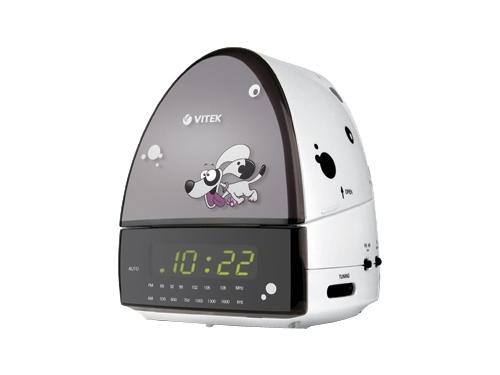 Радиоприемник Радиочасы Vitek VT-3509 W, вид 1