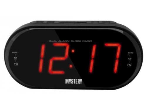 Радиоприемник Радиобудильник Mystery MCR-69 (красная подсветка), вид 1
