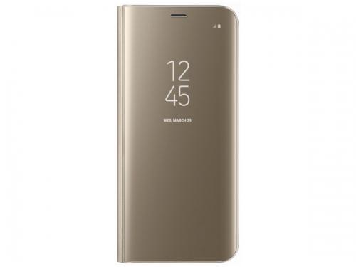 Чехол для смартфона Samsung для Galaxy S8 Clear View Standing Cover (EF-ZG950CFEGRU) золотистый, вид 1