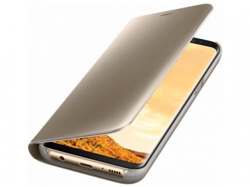 Чехол для смартфона Samsung для Galaxy S8 Clear View Standing Cover (EF-ZG950CFEGRU) золотистый, вид 2