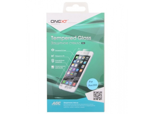 Защитное стекло для смартфона Onext для Apple iPhone 5S/SE (0.3 мм), вид 1