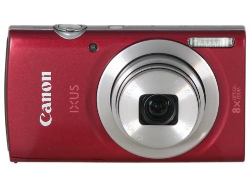 Цифровой фотоаппарат Canon IXUS 185, красный, вид 1