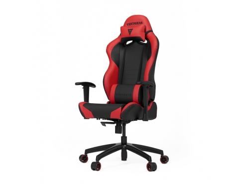 Игровое компьютерное кресло Vertagear SL2000 чёрное/красное, вид 1