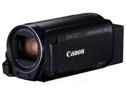 Видеокамера Canon LEGRIA HF R88, чёрная, вид 1