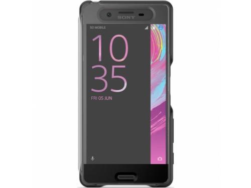 SONY Touch Cover SCR50 для Xperia X чёрный