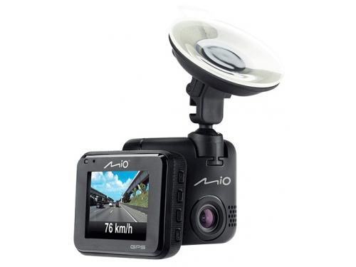 Автомобильный видеорегистратор Mio MiVue C330, черный, вид 1