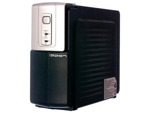 Источник бесперебойного питания  Ippon Back Office 1000, 600 Вт 1000 ВА, чёрный, вид 1