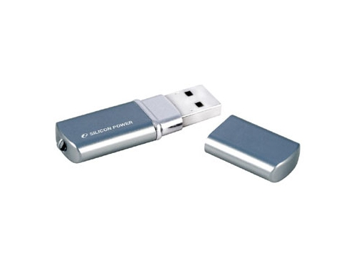 Usb-флешка Silicon Power LuxMini 720 32Gb, синяя, вид 2