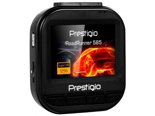 Автомобильный видеорегистратор Prestigio RoadRunner 585 (циклическая запись), вид 1