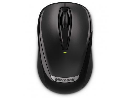 Мышка Microsoft Wireless Mobile Mouse 3000V2 Black USB, вид 2
