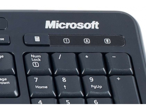 Клавиатура Microsoft Wired Keyboard 600 Black USB, вид 2