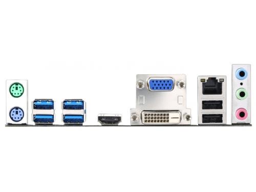 Материнская плата MSI H81M-E34 (Socket 1150, B85, DDR3, mATX, SATA3, GbLAN, RAID, USB3.0), вид 3