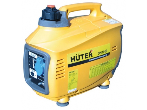 Электрогенератор Бензиновый генератор Huter DN1000, вид 1