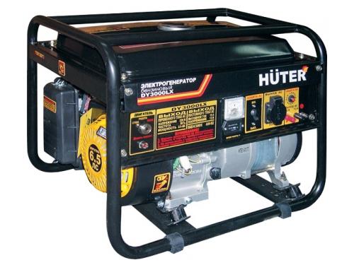 Электрогенератор Бензиновый генератор HUTER DY3000LX, 220, 2.5 кВт, вид 1