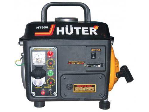 Электрогенератор Бензиновый генератор HUTER HT950A,  220,  0.65кВт [ht950a ], вид 1