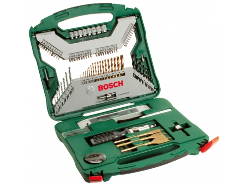 Набор инструментов Bosch X-Line 100 (2.607.019.330), 100 предметов, вид 1