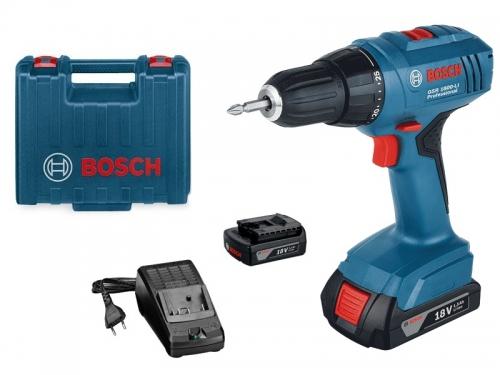Шуруповерт Bosch GSR 1800 Li 06019A8307 Россия, вид 2