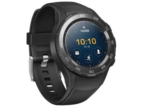 Умные часы Huawei Watch 2 Sport 4G (LEO-DLXX), чёрные, вид 1